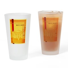 Taking Back The White House Drinking Glass