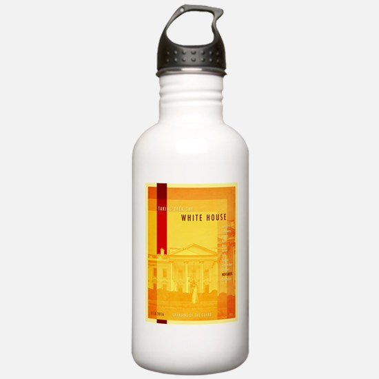 Taking Back The White House Water Bottle