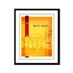 Taking Back The White House Framed Panel Print