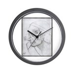 Voltaire by Paul Yaeger Wall Clock