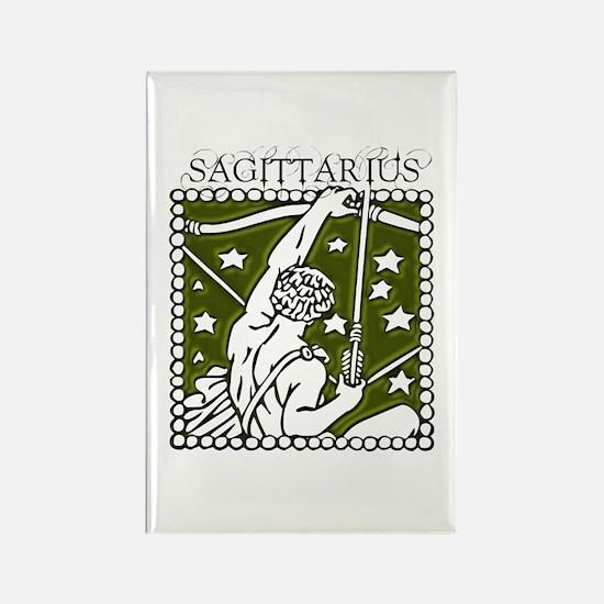 Sagittarius the Archer Rectangle Magnet