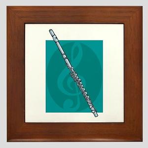 Flute Design Framed Tile