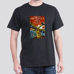 Air Service WWI Poster Dark T-Shirt