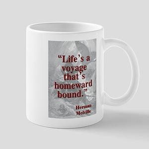 Lifes A Voyage - Melville 11 oz Ceramic Mug