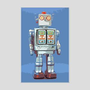 Robot Mini Poster Print