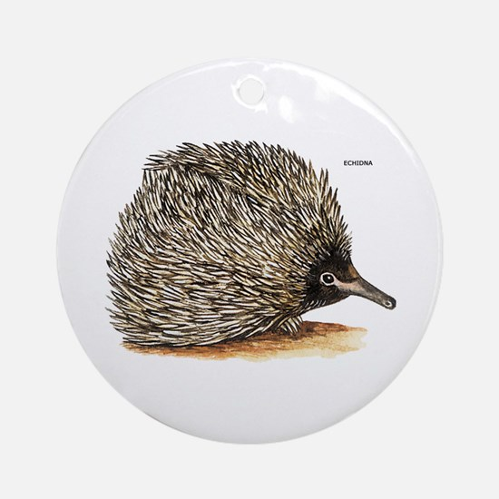 Echidna Spiny Animal Ornament (Round)