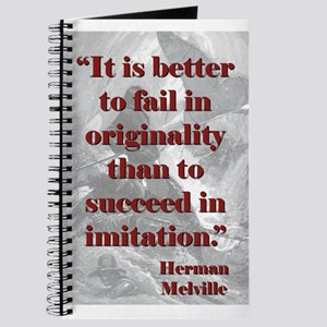It Is Better To Fail - Melville Journal