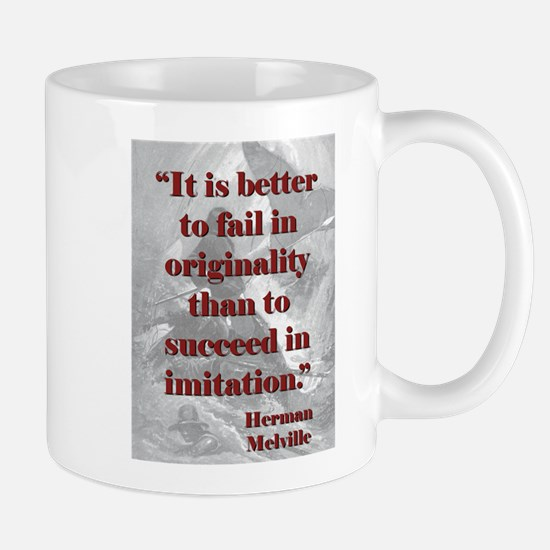 It Is Better To Fail - Melville Mug