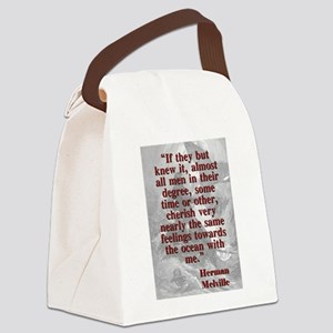 If They But Knew It - Melville Canvas Lunch Bag