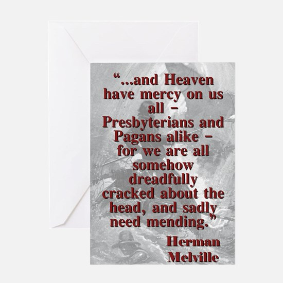 And Heaven Have Mercy On Us All - Melville Greetin