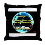 Images of Global Peace Throw Pillow