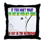 Lactivism Throw Pillow