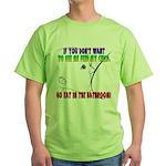 Lactivism Green T-Shirt
