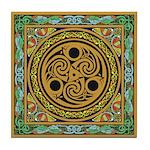 Celtic design 3 Tile Coaster