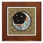 Celtic Moon Framed Tile