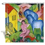 Macke The Dream Expressionism Shower Curtain