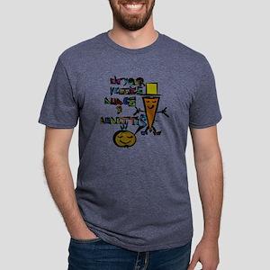 Eat your Veggies - Mr. Onio Mens Tri-blend T-Shirt