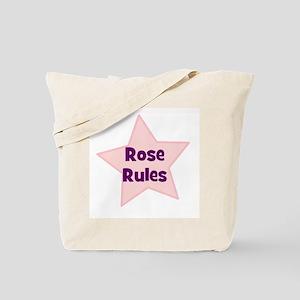 Rose Rules Tote Bag