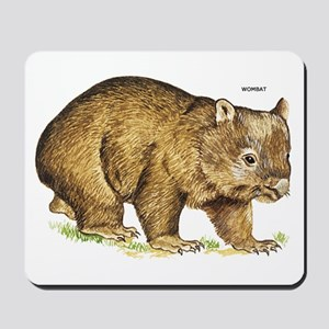 Wombat Animal Mousepad