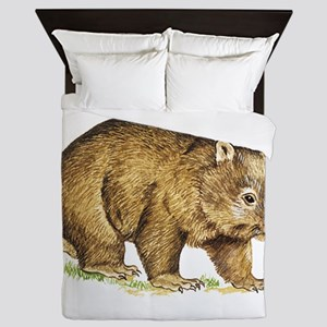 Wombat Animal Queen Duvet