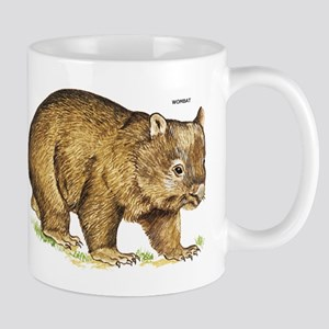 Wombat Animal Mug