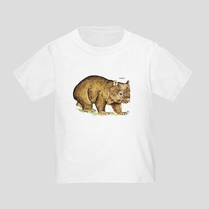 Wombat Animal Toddler T-Shirt