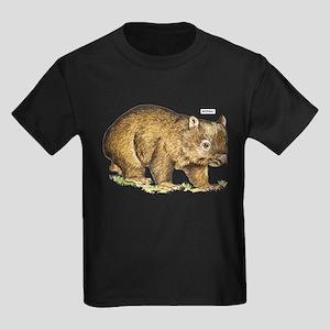Wombat Animal Kids Dark T-Shirt
