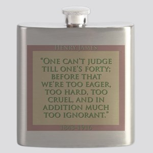 One Cant Judge Till Ones Forty - H James Flask