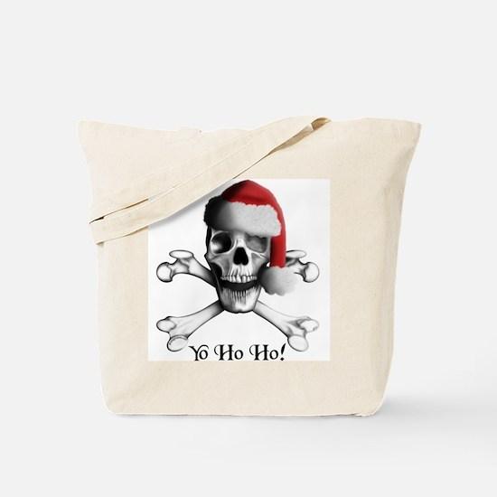Christmas Pirate Tote Bag