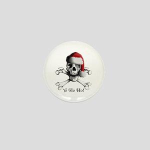Christmas Pirate Mini Button