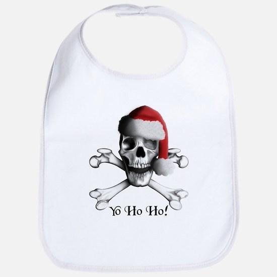 Christmas Pirate Bib
