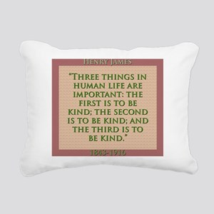 Three Things In Human Life - H James Rectangular C