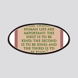 Three Things In Human Life - H James Patch