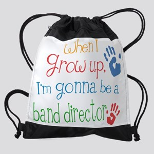 band_director_future_color Drawstring Bag