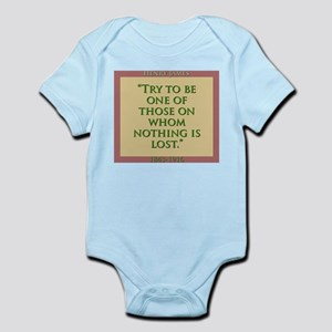 Try To Be One Of Those - H James Infant Bodysuit