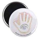 Rainbow Petro EyeHand Magnet