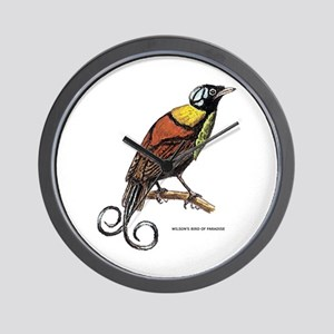 Wilson's Bird of Paradise Wall Clock
