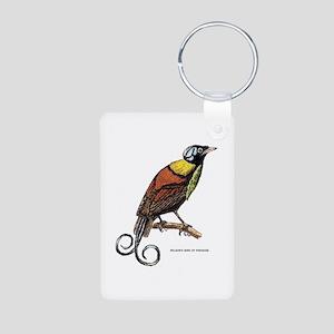 Wilson's Bird of Paradise Aluminum Photo Keychain