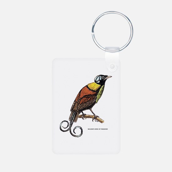 Wilson's Bird of Paradise Keychains