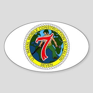 USNMCB 7 Sticker