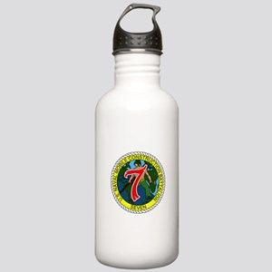 USNMCB 7 Water Bottle