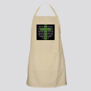 Luke 10:27 Light Apron