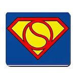 Tennis Superman Mouse Pad
