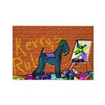 KERRY BLUE TERRIER Rectangle Magnet