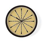Clarinet Tan Wall Clock