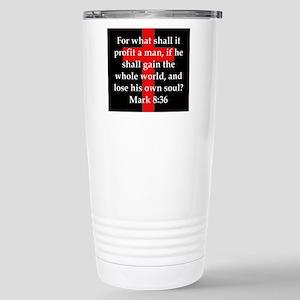 Mark 8-36 Mugs