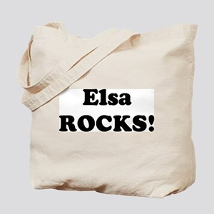 Elsa Rocks! Tote Bag