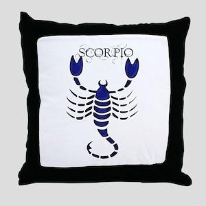 Scorpio II Throw Pillow
