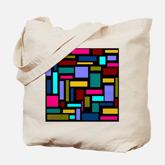 Colorful Voice Art Tote Bag