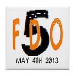 FDO 5 Tile Coaster